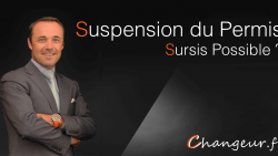 Suspension de permis, un sursis possible ?